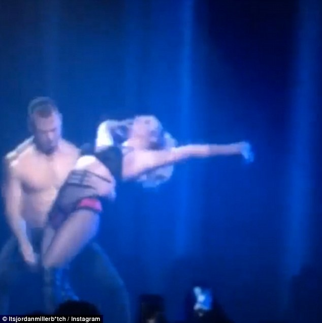 Britney Spears Has Failed Flip At Her Apple Music Festival Set! Watch HERE!