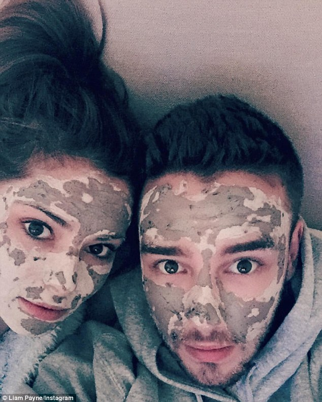 Liam Payne Admits That He Misses Cheryl As He Shares Selfie Of Them Having A Face Mask