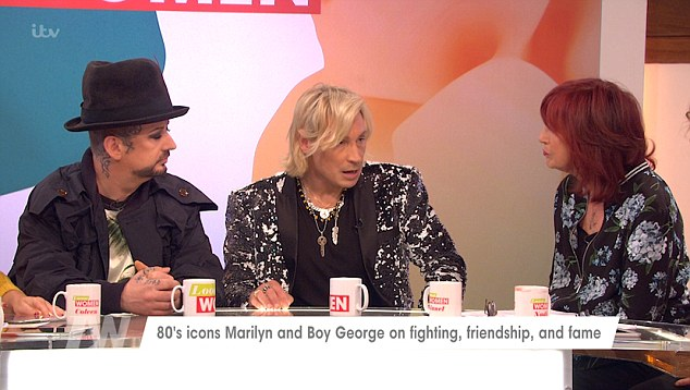 Singer Marilyn Comes To Blows With Janet Street-Porter On Loose Women After She Calls Him 'Vile'
