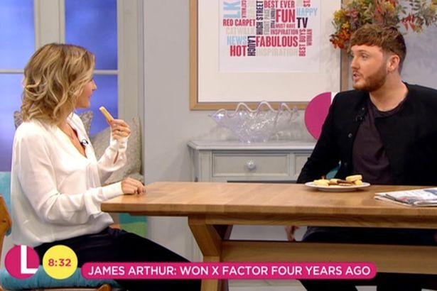Helen Skelton Calls James Arthur 'Daft' During Interview