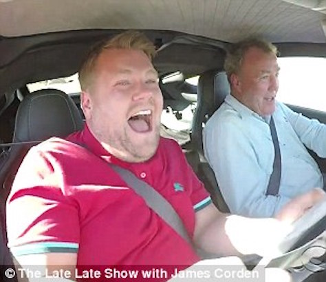James Corden Left Scarred After Speed Carpool Trivia With Jeremy Clarkson