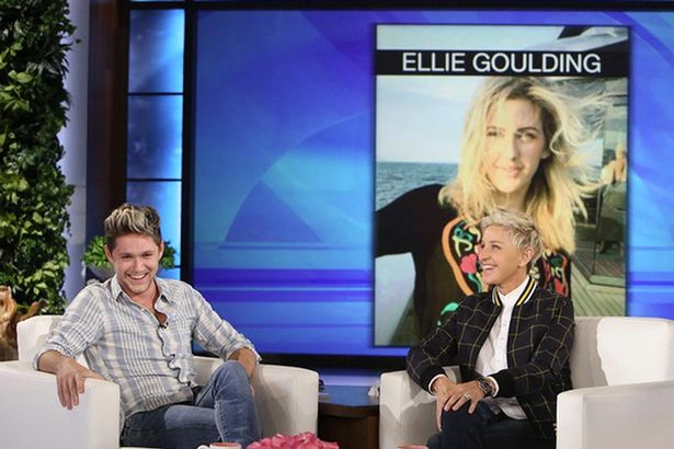 Niall Horan Picks Ellie Goulding During A Game Of Who'd You Rather On The Ellen Show