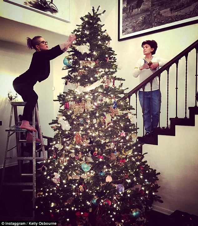 Celebrities Put Their Christmas Decorations Up And Take To Instagram To Share Snaps