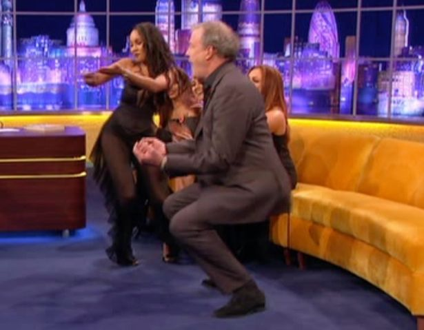 Little Mix Teach Jeremy Clarkson To Twerk And It Is Hilarious