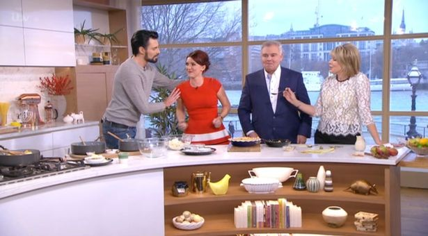 Eamonn Holmes Is Called A 'Sexist Perv' By Viewers After He Flirts With GBBO Winner Candice