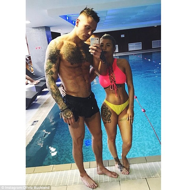 Olivia Buckland Shows Off Her Toned Body In New Selfie As She Has Valentines Day Away With Fiance Alex Bowe