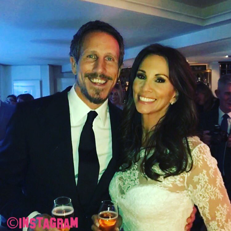 Andrea Mclean Looks Sensational On Her Wedding Day As She Marries Fiance Nick Feeney