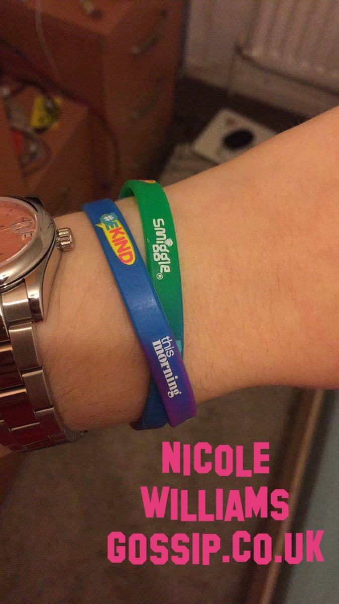this morning be kind campaign wrist bandsthis morning be kind campaign wrist bands