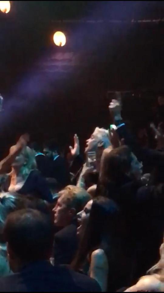 Phillip Schofield Dances To Rihanna At The Ntas