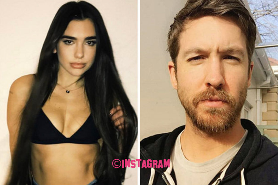Dua Lipa Spotted 'All Over' Calvin Harris After Kissing Jack Whitehall At Brit Awards