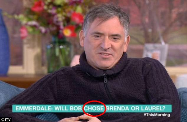 This Morning Make MASSIVE On-Screen Typo During Emmerdale Actor Interview