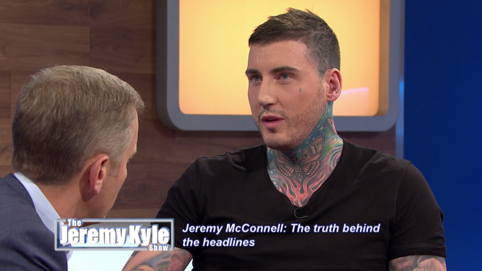 Jeremy McConnell Breaks Down In Tears On Jeremy Kyle And Insists A 'Good Father'